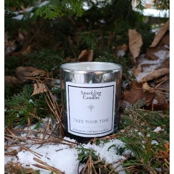 Take your time - świeca zapachowa sojowa naturalna