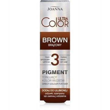 Joanna Pigment Tonujący Kolor Włosów BRĄZ 100ml