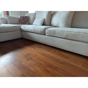 Dwu-modułowa designerska kanapa do salonu