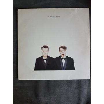 Pet Shop Boys -Actually  LP Vinyl