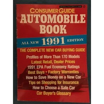 AUTOMOBILE BOOK - 1991r Katalog USA 240 stron.