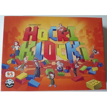 Hocki Klocki gra planszowa - wyprzedaż kolekcji