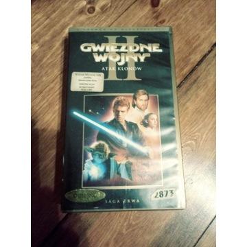 Gwiezdne wojny 2 Atak klonow VHS
