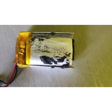 Akumulator Li-po 520 mAh 3.7v