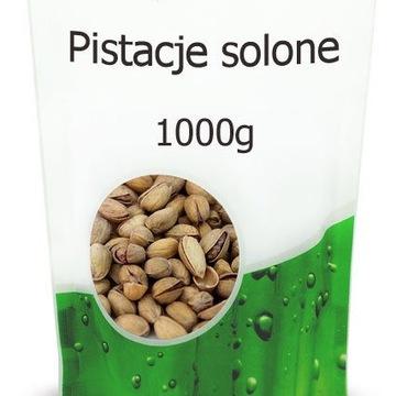 Pistacje solone 1KG zdrowe premium 100% NATURALNE