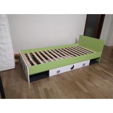 Łóżko / tapczanik młodzieżowy z motywem karate