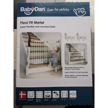 Bramka ochronna Baby Dan (metalowa)