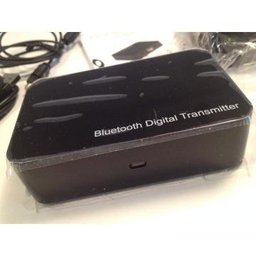 Bluetooth TRANSMITTER na 3 wejścia Audio+SPDIF+JAC