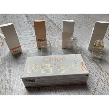 Chloe - pudełka + flakony do zestawu 4 perfum