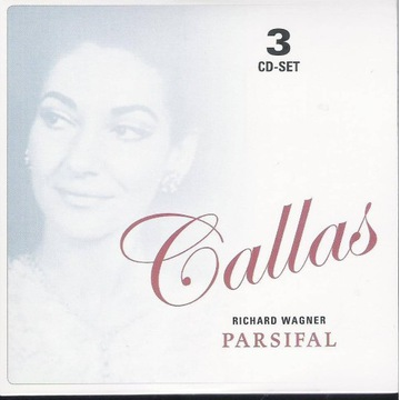 MARIA CALLAS LIVE Wagner - Parsifal po włosku 3cd
