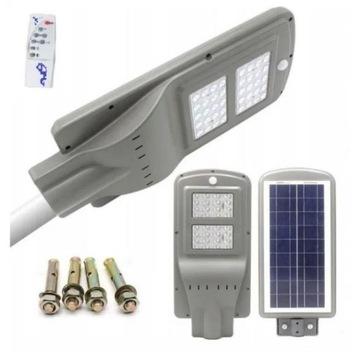Lampa Solarna Panel Słoneczny LED 40W IP66 montaż