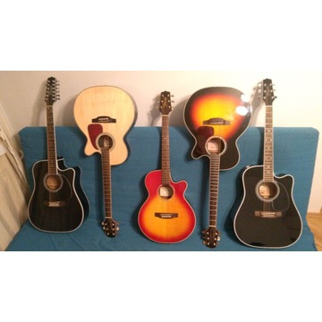 INSTRUMENT gitara akustyczna klasyczna elektryczna
