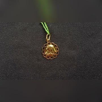 Złoty Medalik pr. 585, 1 gr