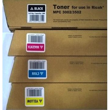 toner Ricoh MP C3002 C3502 BLACK czarny -FV