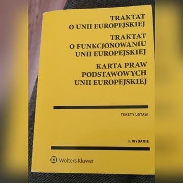 Traktat o Unii Europejskiej Wolters Kluwer