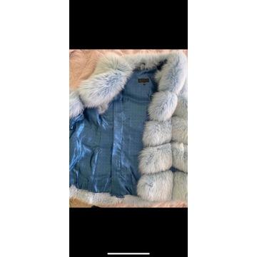 Kamizelka z lisa polarnego