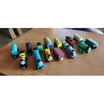 6 pociągów i 8 wagonów - zabawki dla dzieci