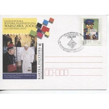 WYSTAWA FILATELISTYCZNA WARSZAWA 2000