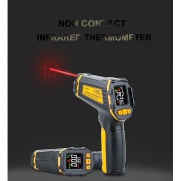 Cyfrowy bezdotykowy termometr na podczerwień IR