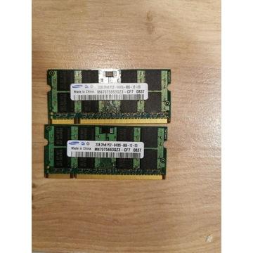 Pamieci Ram DDR2 2x2GB