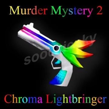 ROBLOX Murder Mystery 2 Chroma Lightbringer