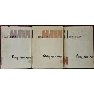 TOMASZ MANN - LISTY