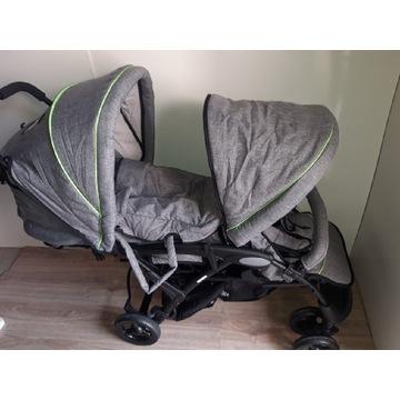 Wózek Chic 4 Baby Duo szary