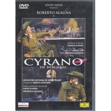 ALFANO Cyrano de Bergerac ALAGNA  UNIKAT DVD