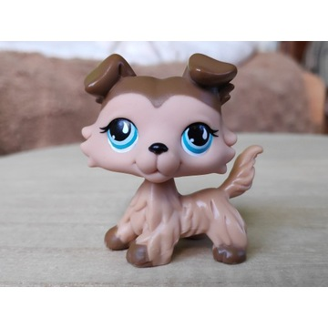 LPS Littlest Pet Shop pies piesek Collie pop #893
