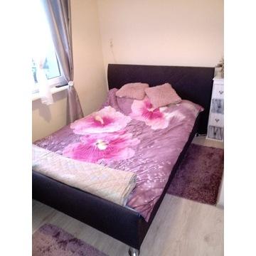 Ekskluzywne, solidne wzmacniane łóżko 140 cm.