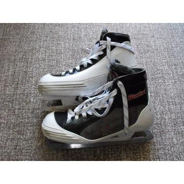 Łyżwy bramkarskie Heaton Helite 5, hokejowe, hokej