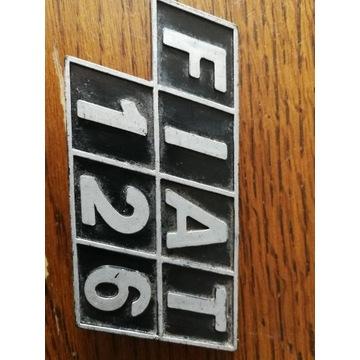 Emblemat FIAT 126