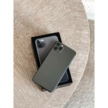iPhone 11 Pro Max 256GB idealny, 0 rysek + etui