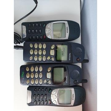 Zestaw starych komórek gsm Nokia kolekcja telefony