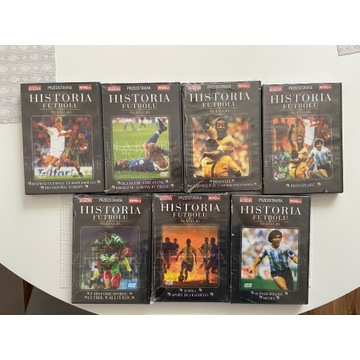 Historia futbolu 7 części DVD BOX PL