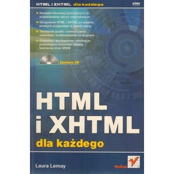 HTML i XHTML dla każdego Laura Lemay