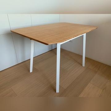 Stół z opuszczanym blatem, bambus IKEA PS 2012