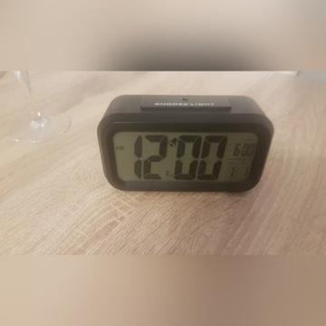 Budzik Zegar Cyfrowy Duży Wyświetlacz LED