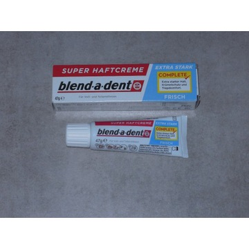 Klej do protez blend-a-dent FRISCH produkt z DE.