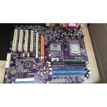 Płyta Główna + Ram + Procesor (ZESTAW)