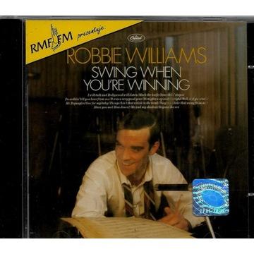 Robbie Williams Swing When You're Winning EX CD