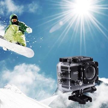 Kamera sportowa rower narty motor akcesoria od1zł