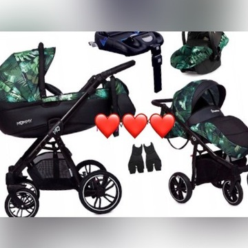 Wózek 4 w 1 mommy