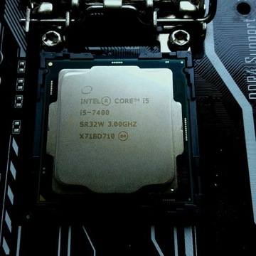 Intel i5 7400 + cooler sprawny (gratis AMD Phenom)