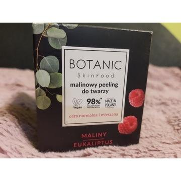 Botanic skinfood peeling do twarzy malina