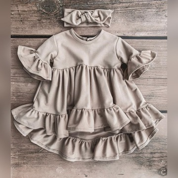 Sukienka boho roz. 104