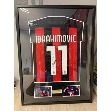 Koszulka Autograf Zlatan Ibrahimovic  prezent