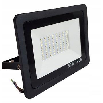 Halogen Lampa Mocny Naświetlacz LED 50W 4500lm