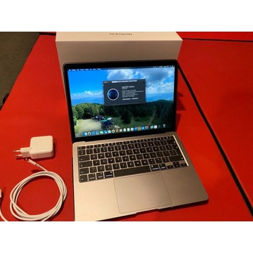 MacBook Air 2020 13 4rdzenie i5 8GB 512GB Iris