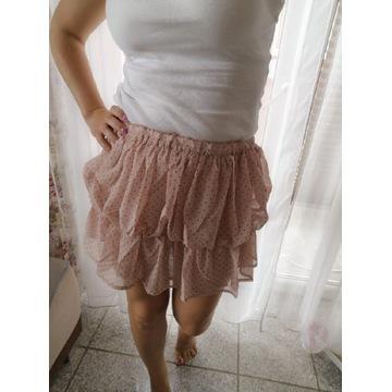 Nowa spódniczka w grochy!